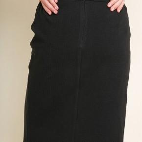 Knotty Black Skirt
