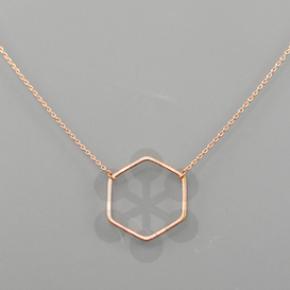 Love Hexagon Necklace