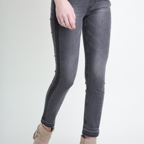 Grey Side Detail Jeans