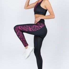 Pink Zebra Athletic Pants