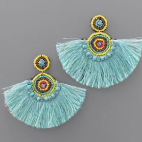 Turquoise Party Earrings