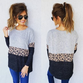 Loving Life Leopard Band Top