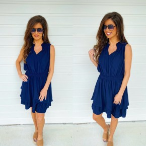 Love Your Life Navy Dress