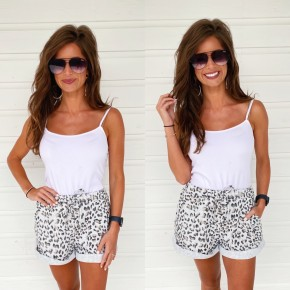 Snow Leopard Lounge Shorts