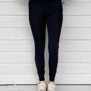 Black Brushed Leggings