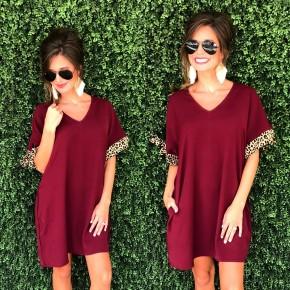 Wildest Dreams Burgundy Dress