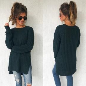 Poppy Popcorn Sweater- Green