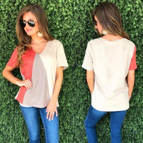 Falling For You Suede Top