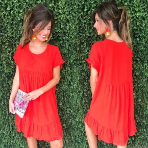 Reality Red Dress