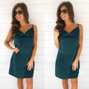 Feeling Like A Star Emerald Dress