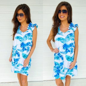 Stay With Me Ruffle Dress