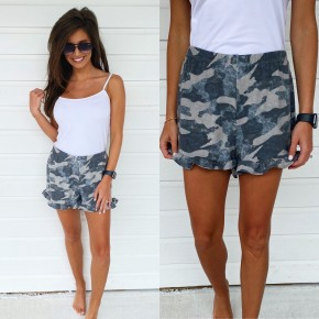 Lounge Around Camo Shorts