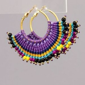 Mardi Gras Mambo Earrings