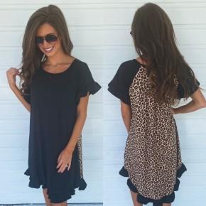 On My Side Black Dress