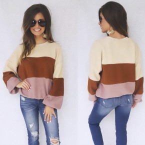 The Perfect Touch Color Block Sweater