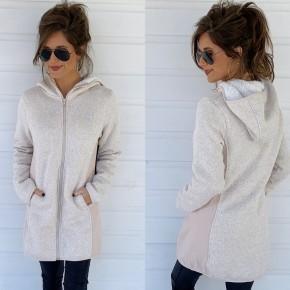 Natural Hooded Jacket
