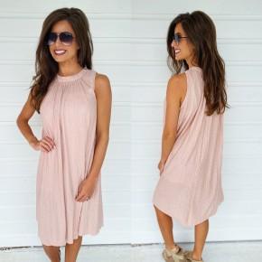 Dusty Rose Shimmer Dress