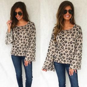 Mocha Leopard Top