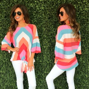 Talking About You Colorful Top