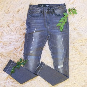 Grey Washed Skinnies