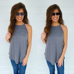 Best Of The Basics Top- Grey