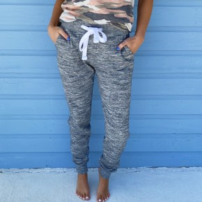 Stay At Home Joggers- Grey