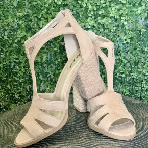 Neutral Strappy Heels