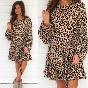 Feeling Wild Leopard Print Dress