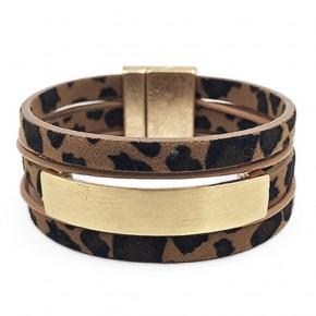 Leopard Wrap Bracelet