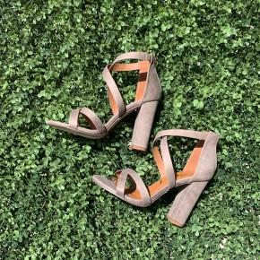Riley Strappy Block Heels