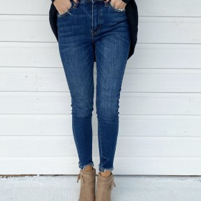 Darci Dark Denim Skinnies