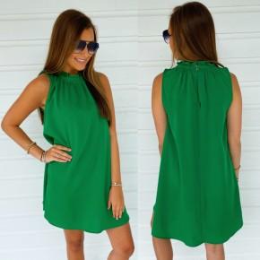 Hello Summer Swing Dress- Kelly Green