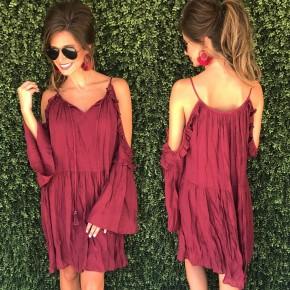 Dress to Impress - Burgundy