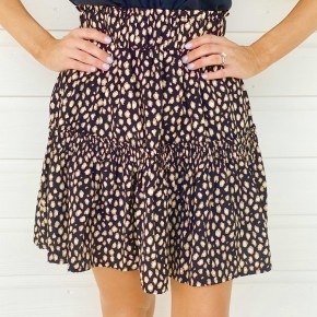 Take A Risk Spotted Skirt