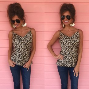 Wild Thing Leopard Cami Top