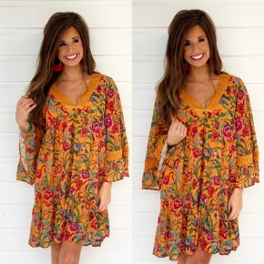 Share The Love Printed Dress