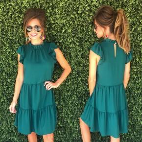 Better Together Dress- Green