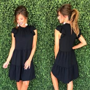 Better Together Dress- Black