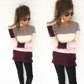 It's Your Time Color Block Sweater