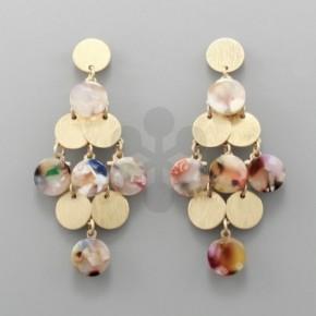 Multicolored Chandelier Earrings