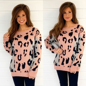 Wonderfully Wild Blush Sweater