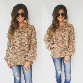 Cinnamon Popcorn Sweater