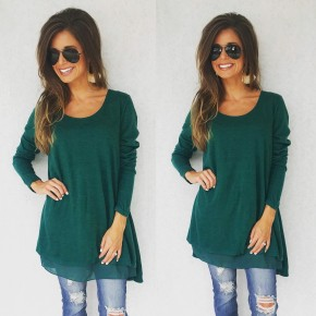 All About Me Hunter Green Tunic