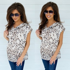 It's About Time Animal Print Top