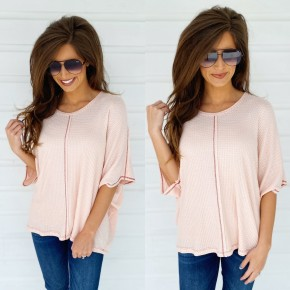 Don't Worry About Me Blush Top