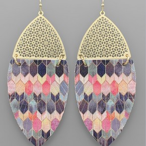 Mallory Feather Earrings
