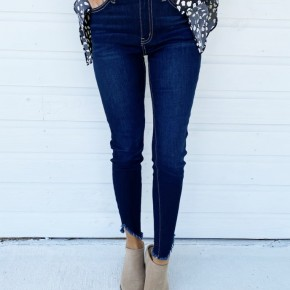 Olivia Dark Denim Skinnies