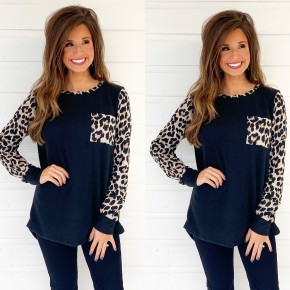 One Step Ahead Leopard Top