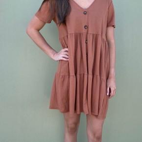Dusty Dress, Rust *Final Sale*