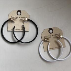 Acrylic Open Hoops